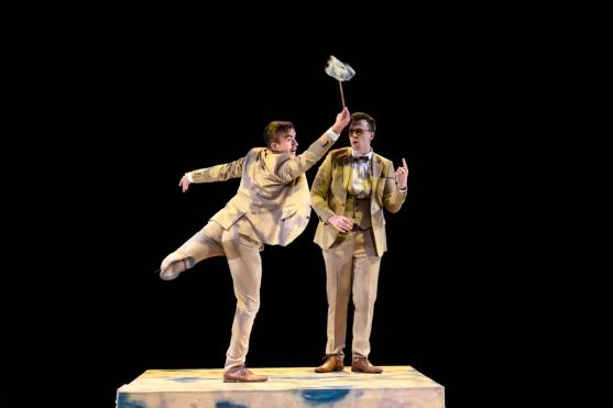Deaf Men Dancing Triple Bill, Laban Theatre, Deptford, London, Britain - 09 Oct 2019